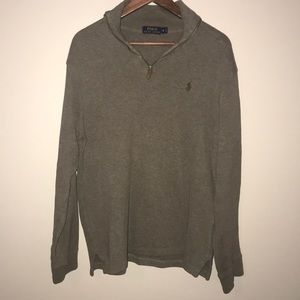 Ralph Lauren Polo sweater, EUC -brown size M.